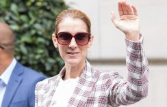 Celine Dion Cleverly Wore The Checkered Blazer As A True Style Star