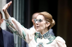 Celine Dion Is Very Excited With Her Fashionable Life