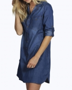 Must-Have: This Denim ShirtDress Will Get You Excited For Weekend