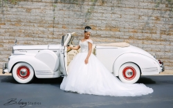 This Bride Matching Her Wedding Dress To A Car Will Be The Most Beautiful Thing You've Ever Seen