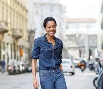 Women Who Think Outside The Box Will Love Topshop's Plastic Jeans