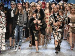 Dolce & Gabbana Chose Mothers, Top Bloggers, and Kids To Walk The Runway