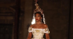 Outrageous Headpieces, Ball Gowns & Colors, See Dolce & Gabbana's Dazzling Alta Moda Show