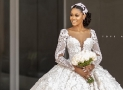 This Ex Beauty Queen Got Married In The Dreamiest Wedding Gown