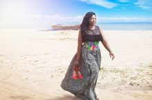 Funke Akindele Is The New Face Of Fashion Label Ayo Van Elmar