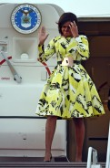 Michelle Obama Looked Uber Chic As She Make A Colorful Fashion Statement In Japan