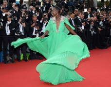 All Eyes Actually Were On Lupita Nyong'O'S Gucci Première Gown At Cannes