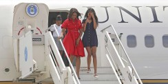 Michelle Obama's 6 Most Gorgeous Looks From Her European Tour