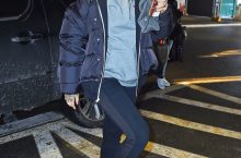 RIHANNA OBVIOUSLY THE FIRST TO WEAR THOSE ALEXANDER WANG BOOTS