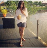 How Genevieve Nnaji Dresses to Hang Out With Friends on Weekends