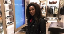 Genevieve Nnaji Proves You Can Never Go Wrong Wearing An All-Black Outfit