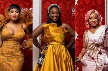 See The Red Carpet Looks From 2019 Ghana Golden Movie Awards