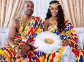 This Ghanaian Bride's Traditional Wedding Dress is as Vibrant as You'd Expect