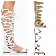 10 Gladiator Sandals To Relieve You From Your Heels This Spring