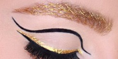 You May Likely Want To Try The Golden Brows Especially This Party Season