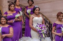 You'll Seriously Drool Over This Bride's Hand Beaded Wedding Gown