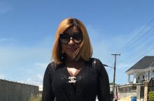 You Won't Even Notice Ini Edo Is Wearing A Waist Cincher Until You Look Closely