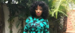 Ini Edo Is Keeping Her Shapely Figure Alive In A Form-Fitting Dress