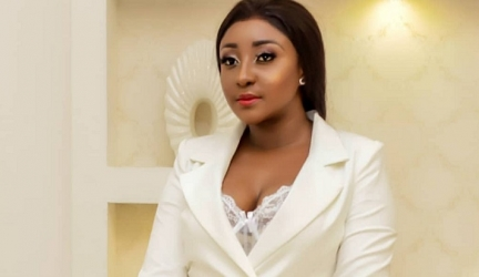 Ini Edo is Here Looking Impossibly Chic in a White Blazer With no Pants