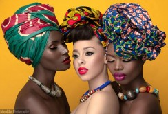 The Man Behind The Viral African Fashion Head-wraps Images That Got People Talking