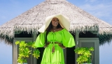 Jackie Appiah's Summer Vacation in Maldives Will Give You Serious FOMO