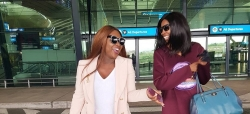 Jackie Appiah Just Wore The Perfect Oversized Blazer And Denim Pants In SA