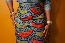 Every Way To Mix Denim With African Prints