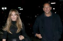 You Have To See The Skirt Jennifer Lopez Wore For A Date Night