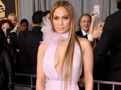 A Glance At Jennifer Lopez's Grammy Awards Gown Will Make Your Jaw Drop