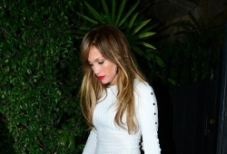 You Have To See Jennifer Lopez's Mini Dress To A Dinner Date