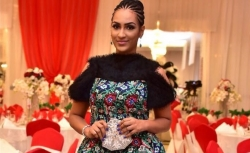Juliet Ibrahim Looks Gorgeous In Asymmetric Dress