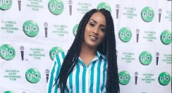 Seriously, Juliet Ibrahim Is Now Wearing A Grey Hair