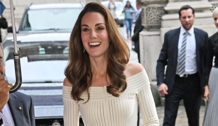 Kate Middleton Wore a Stunning Off-the-Shoulder Dress for a Gala Dinner