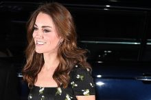 Kate Middleton Looks Elegant In A Floral Alexander McQueen Gown