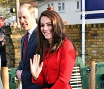 Kate Middleton Wears Red Skirt Suit In A Way You've Never Tried Before