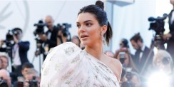Kendall Jenner's Red Carpet Dress Is More Like A Mini Dress