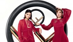 Kendall Jenner And Gigi Hadid Are Twinning In Fendi's Latest Campaign