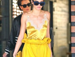 Here's How Kendall Jenner Makes Wearing All-Yellow Work