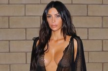 Kim Kardashian's Date Night Outfit Will Leave Your Eyes Blinking