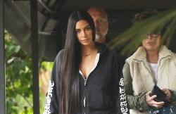 Kim Kardashian Wears The Most Shredded Jeans Ever
