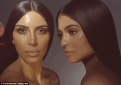 Kim Kardashian And Kylie Jenner's Makeup Collaboration Is Underway