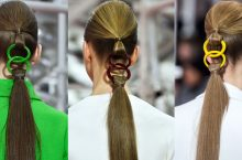 New Hair Style: Linked Ponytails Spotted at Christian Dior Couture Spring 2015