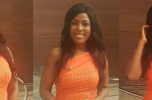 Linda Ikeji Wore A Gorgeous Dress Perfect For Wedding Guest