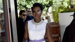 Lupita Nyong'o Is The Picture Of African Beauty In A Little Dress