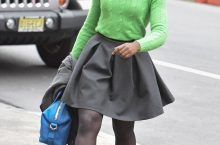 The Best Way To Wear A Mini Skirt, According To Lupita Nyong'o
