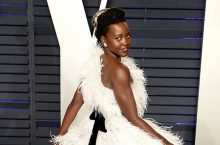 Lupita Nyong'o's Feathered Dress Was As Impressive As You'd Expect