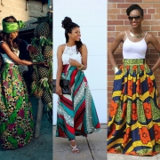 30 Ways To Style Your African Prints and Ankara Maxi Skirts
