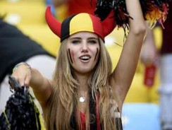 17-Year-Old World Cup Fan Just Signed a Modeling Contract With L'Oreal (Read)