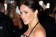 Meghan Markle Attended Royal Variety Performance In A Safiyaa Top and Skirt