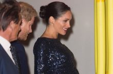 Meghan Markle Sparkles In A Stunning Roland Mouret Sequin Dress